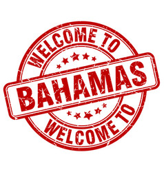 Welcome to bahamas vector