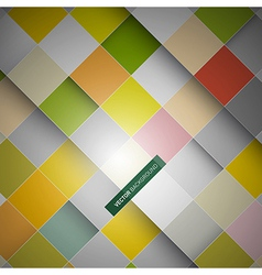 bg squares vector image vector image