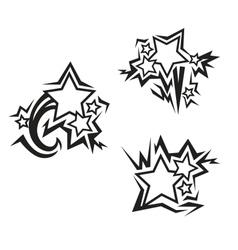 Stars tattoos vector