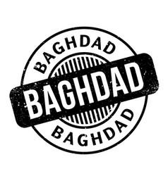 baghdad rubber stamp vector image