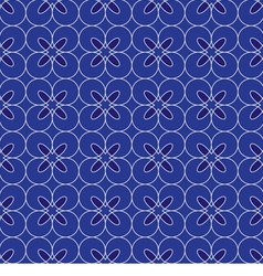 Blue Vintage background vector image