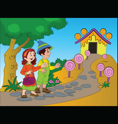 Hansel and gretel vector