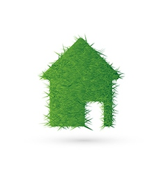 House icon and ecology EPS10 vector