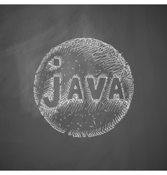 Java icon vector