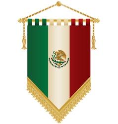 Mexico pennant vector