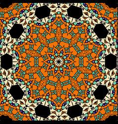 Oriental ornate seamless pattern ethnic endless vector