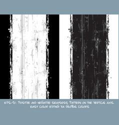 Seamless pattern - vertical brush stroke positive vector