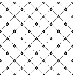 Seamless simple pattern with Christmas ball vector