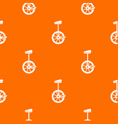 Unicycle pattern seamless vector