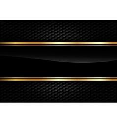 Back Background Gold vector image