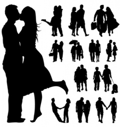 couple people vector image