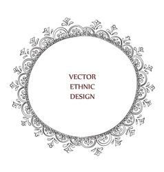 tattoo henna pattern vector image