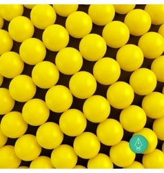 Abstract technology background with balls Spheric vector