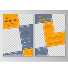 Business brochure or cover vector image