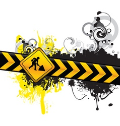 digging background vector image