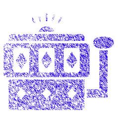 ethereum gambling machine icon grunge watermark vector image