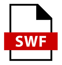 file name extension swf type vector image