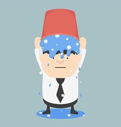 Ice bucket Challenge Business Fat vector