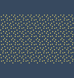 Night sky stars background dots seamless pattern vector