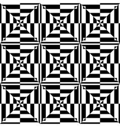 op art seamless design vector image