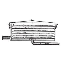 Purifier vintage vector