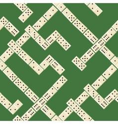 Seamless domino pattern vector