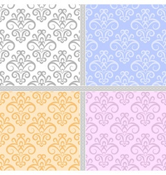 Summer seamless ethnic pattern vector image