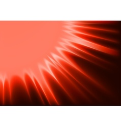 Red Abstract Sunshine vector image vector image