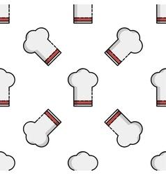 Kitchen flat icon pattern vector