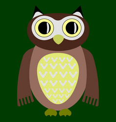 cartoon owl image vector image