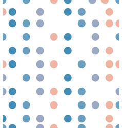 abstract polka dot line pattern vector image