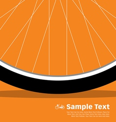 Bike Poster Wheel vector