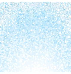 Christmas Snowflakes Background Background vector image