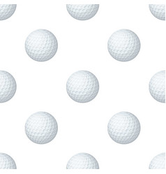 Golf ballgolf club single icon in cartoon style vector