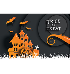Halloween party invitations and greeting cards vector