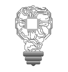 Microchip circuit technology vector