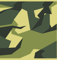 pattern camo army soldier abstract vector image