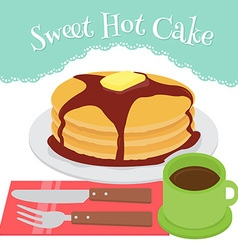 hotcake vector image vector image
