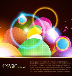 abstract beautiful background vector image
