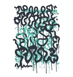 Backgraund Graffiti Tag vector