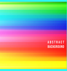 color stripes background vector image