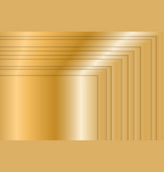 Golden background with gradient vector