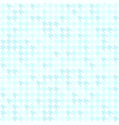 Houndstooth pattern cyan seamless background vector
