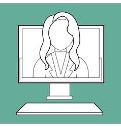 Person avatar design vector