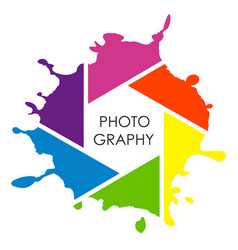 photographer design vector image