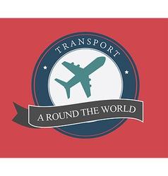 Transport design over pink background vector