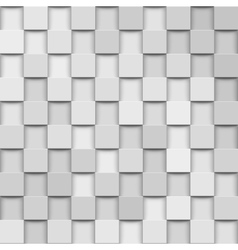 abstract 3d squares vector image vector image