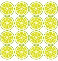 seamless lime pattern vector image vector image