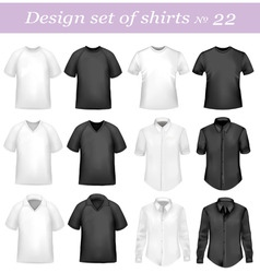 design set 22 vector image vector image