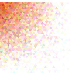 Abstract triangle pattern background - mosaic vector